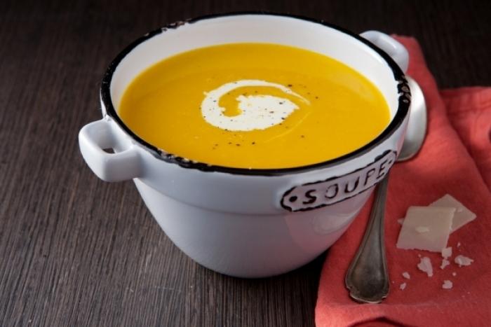 Recette de soupe de potimarron au cumin rapide