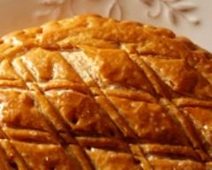 Recette galette des rois frangipane framboises