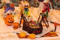 Recette de gâteau araignée d'halloween