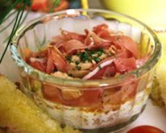 Recette oeufs cocotte au foie gras et jambon serrano