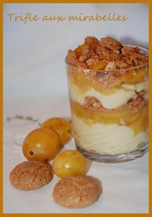 Recette de trifle aux mirabelles