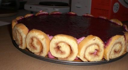 Recette de gâteau mousse aux fruit des bois et son miroir