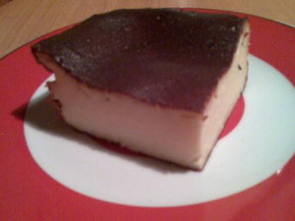 Recette de gâteau au fromage blanc sans pâte et sans sel