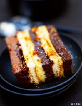Gâteau chocolat-crème de marrons pour 6 personnes
