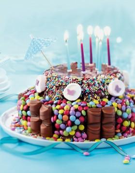 Gâteau d'anniversaire chocolat au micro-ondes pour 20 personnes ...