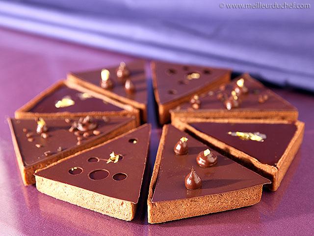 Tarte cara crakine au chocolat inaya  la recette illustrée ...