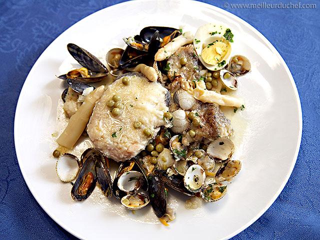 Merlu koskera  recette de cuisine illustrée  meilleurduchef.com