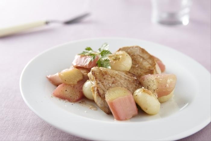 Recette de filet mignon de porc à la rhubarbe facile et rapide