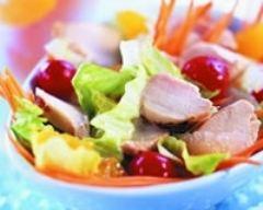 Salade de lapin au zeste d'agrumes | cuisine az
