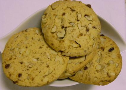 Recette de biscuits aux noix