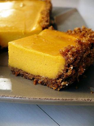 Recette de cheesecake au potimarron et aux épices