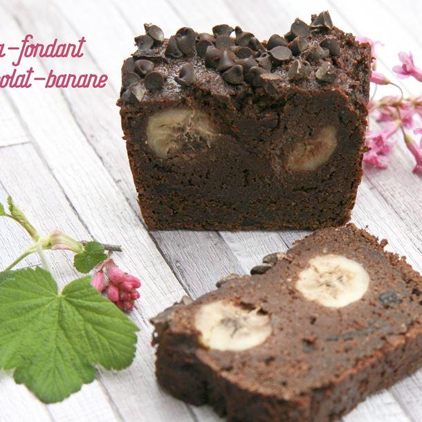 Recette cake ultra-fondant au chocolat et à la banane