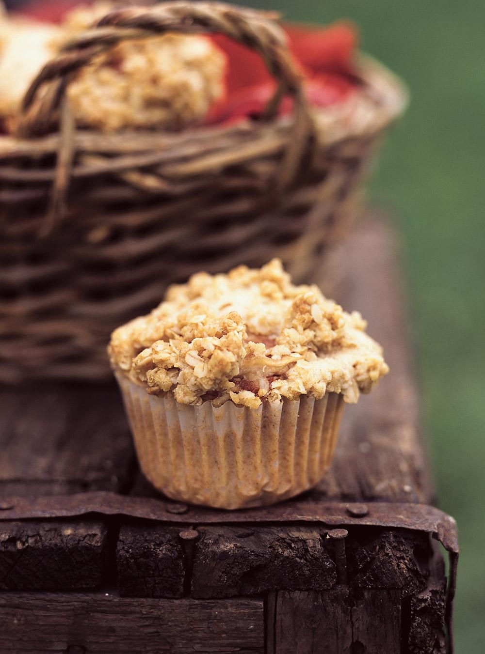 Muffins croustillants aux pommes | ricardo