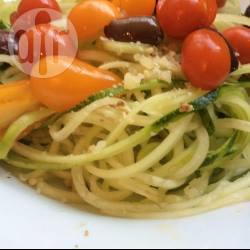 Recette spaghetti de courgettes au pesto – toutes les recettes ...