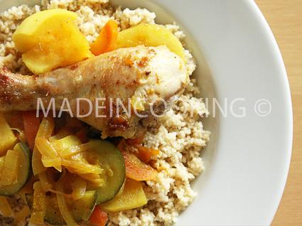 Recette de couscous au poulet express