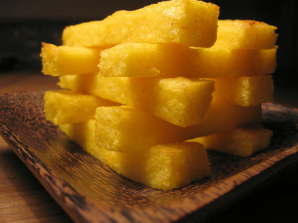 Recette de frites de polenta