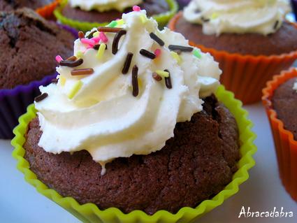 Muffins en cupcakes choco-amandes