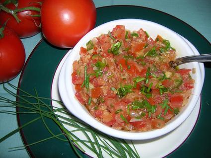 Recette de rougail tomates