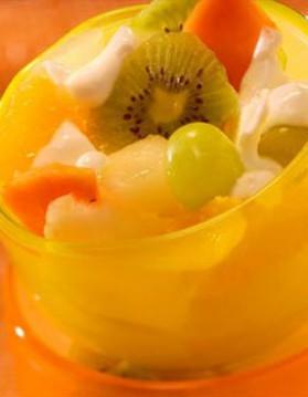 Salade de fruits pour 4 personnes