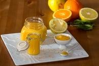 Recette de crème curd orange-bergamote