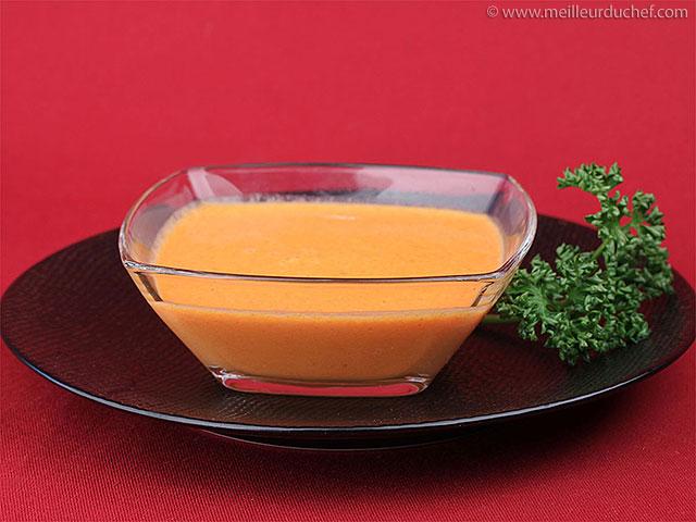 Coulis de poivrons rouges  recette de cuisine illustrée ...