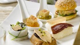 Melting pot d'amuses bouches au foie gras