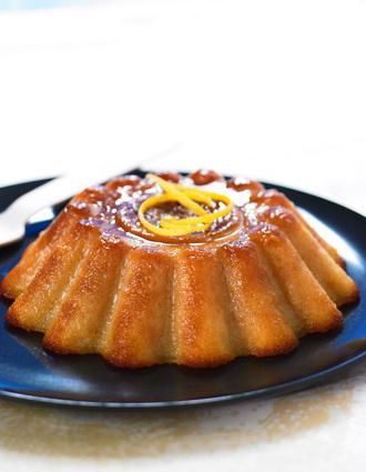 Recette de gâteau à l'ananas et kirsch