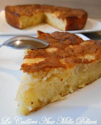 Recette de gâteau aux pommes 4 x 9