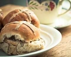 Recette hot cross buns