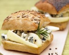 Recette sandwich poire roquefort
