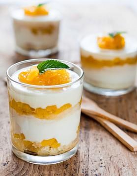 Verrine au fromage blanc et orange thermomix pour 4 personnes ...