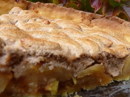 Recette de tarte aux pommes meringuées à la crème de marron