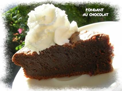 Recette de fondant au chocolat inratable