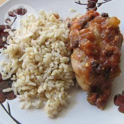 Recette cuisses de poulet aux abricots secs et au tamarin – toutes ...