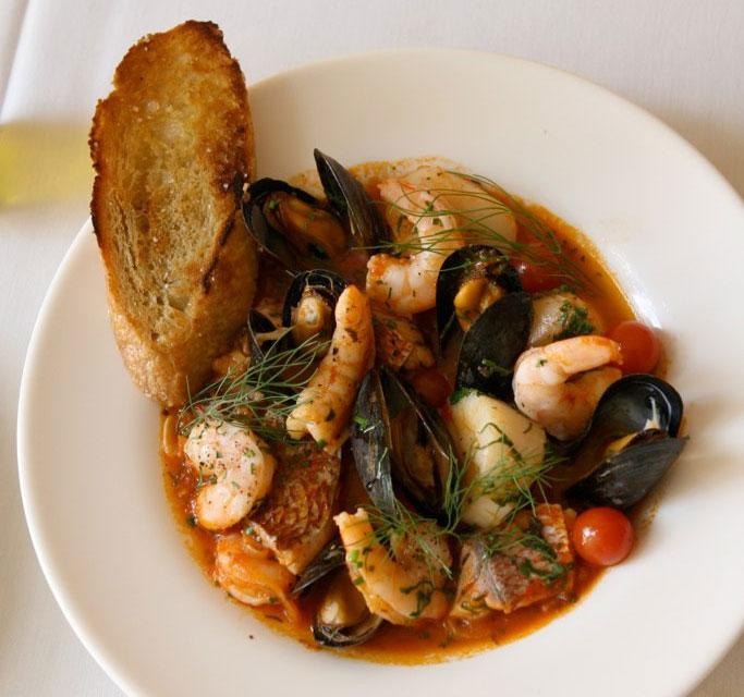Cacciucco : soupe italienne de poisson