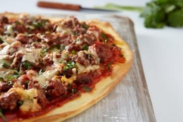 Recette de pizza façon bolognaise facile et rapide