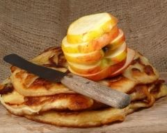 Recette crêpes aux pommes
