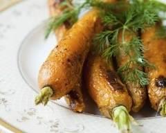 Recette carottes glacées à l'orange