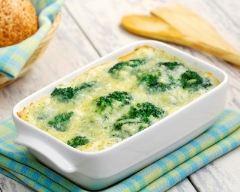 Recette gratin de brocolis et de pommes de terre