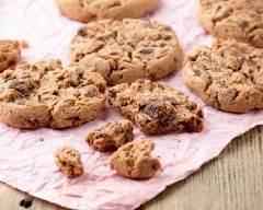 Recette cookies chocolatés au sucre vanillé