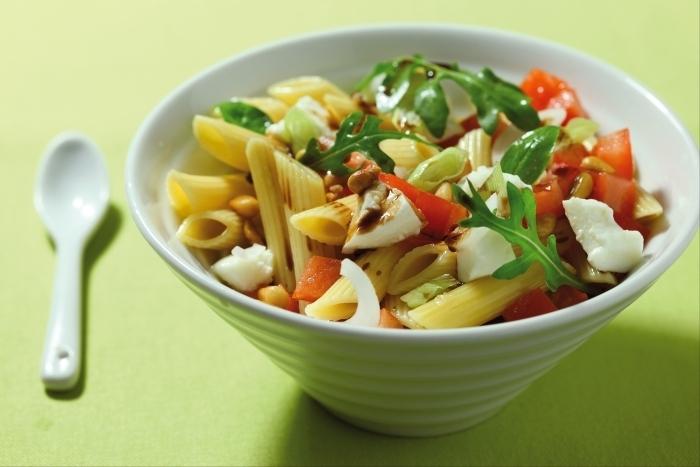 Recette de salade de penne estivale facile et rapide