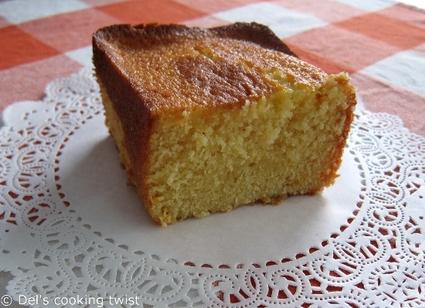Recette de cake à l'orange et au miel
