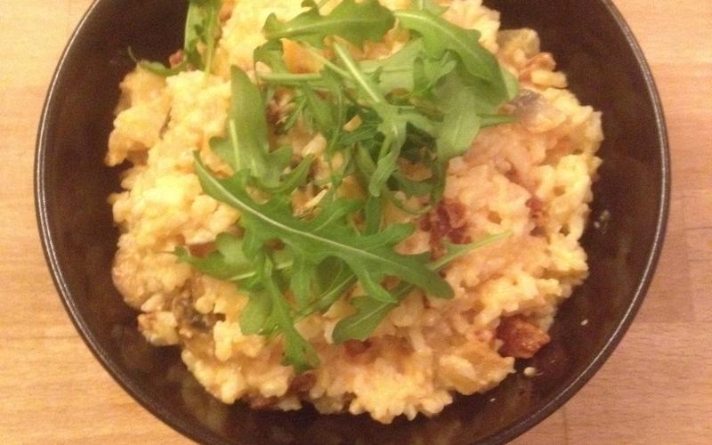 Recette rissoto chorizo champignon pas chère et simple > cuisine ...