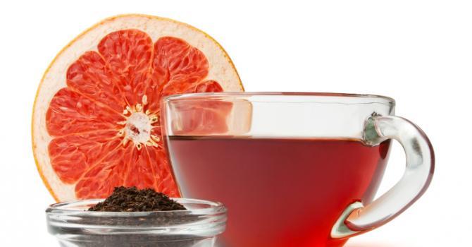 Recette de thé vert au pamplemousse