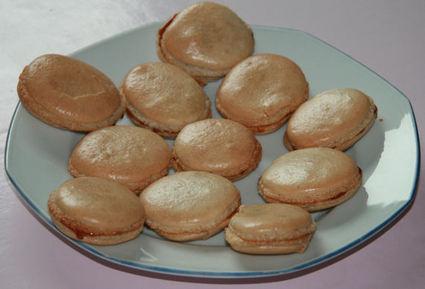 Recette macarons au pain d'épice (macaron)