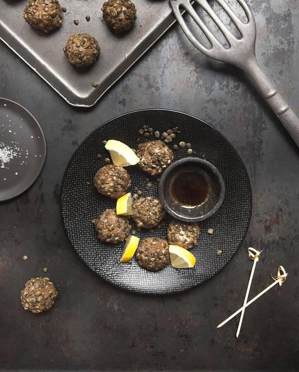 Boulettes lentilles-champignons-tofu pour 3 personnes