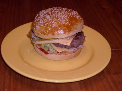 Recette de pain à hamburger