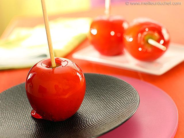 Pomme d'amour  notre recette illustrée  meilleurduchef.com