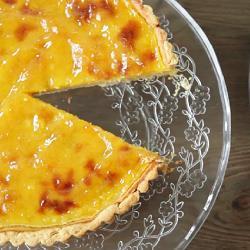Recette tarte au gingembre et citron vert – toutes les recettes ...