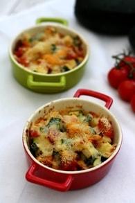 Recette de gratin de courgettes et tomates au parmesan